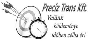 Logo Precíz Trans Kft.